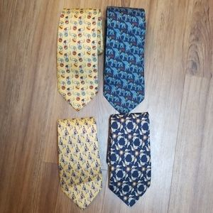 4 Brooks Brothers Ties 1 NWT